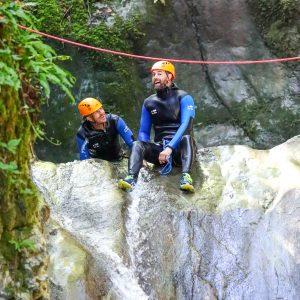 Terneze-canyoning-dans-le-massif-des-Bauges
