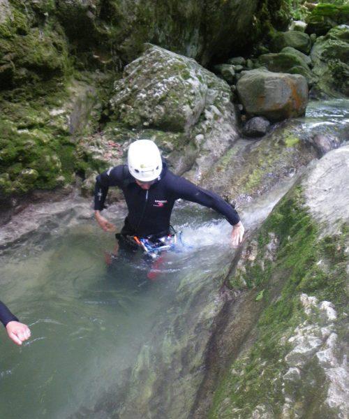 Canyoning en Savoie-Pont du diable