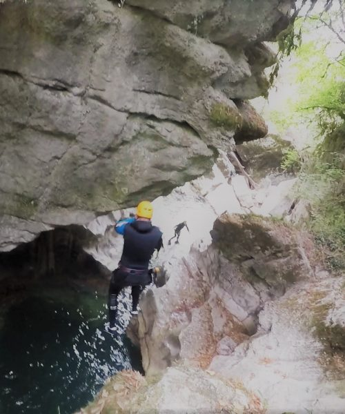 Saut Groin-Canyon-en-Savoie