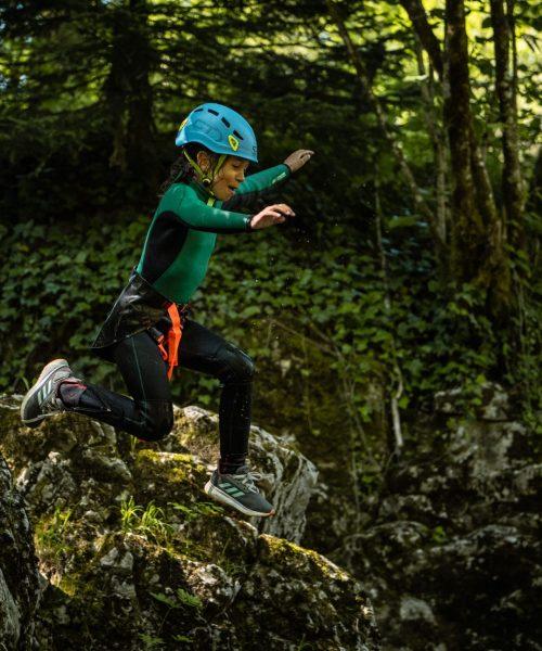 S'initier au canyoning en Savoie
