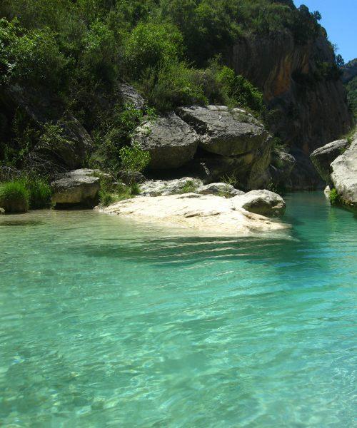 eaux turquoises canyon